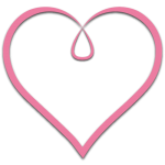 A pink heart that is from the Luv-N-Care logo